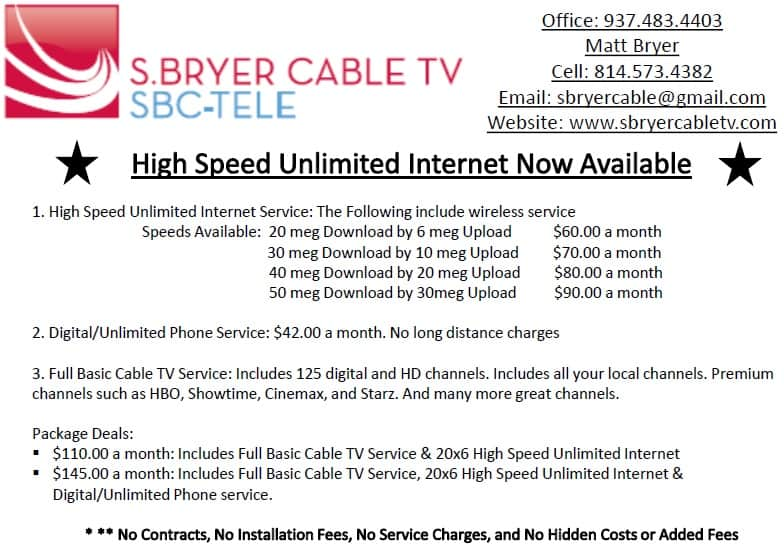 bryer cable advertisement