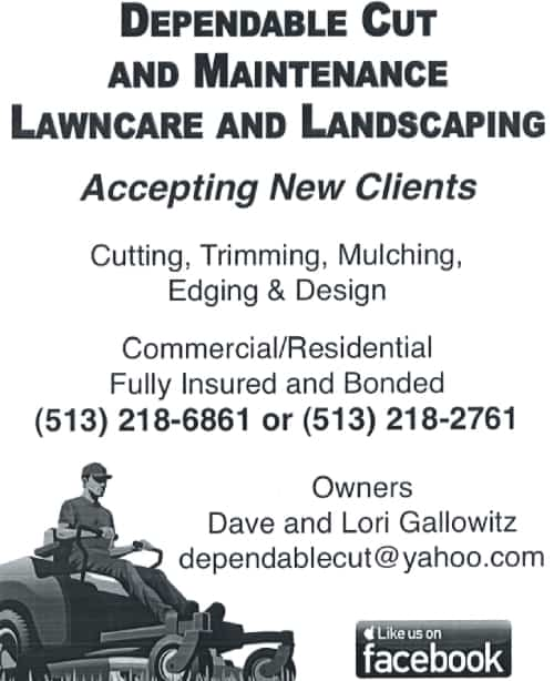 dependable cut and maintenance lawncare and landscaping