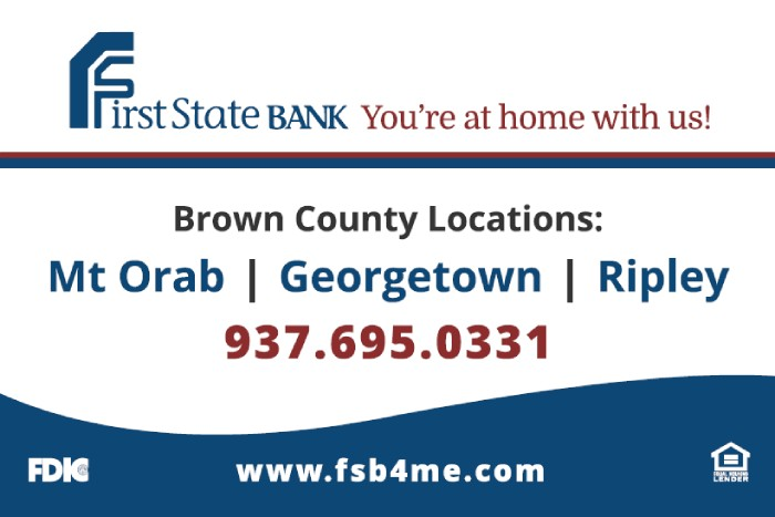 first state bank advertisement