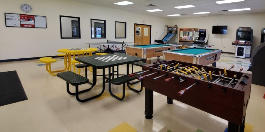 Rec Center Game Room View 2